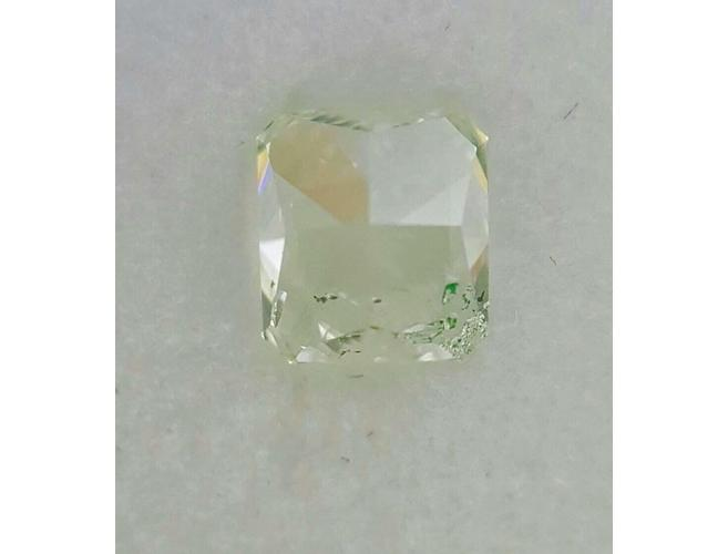 Radiant 0.96 Carat Natural Fancy Green-ColorDiamondsNet