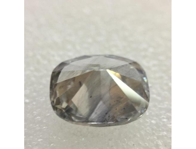 Cushion, 1.84 Carat, Fancy Blue Gray. Natural Loose Coluored Diamond