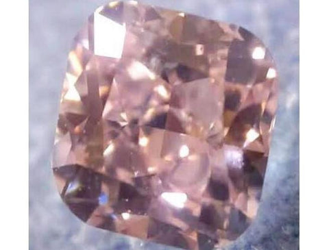 Cushion 0.54 Carat Fancy Pink SI2-ColorDiamondsNet