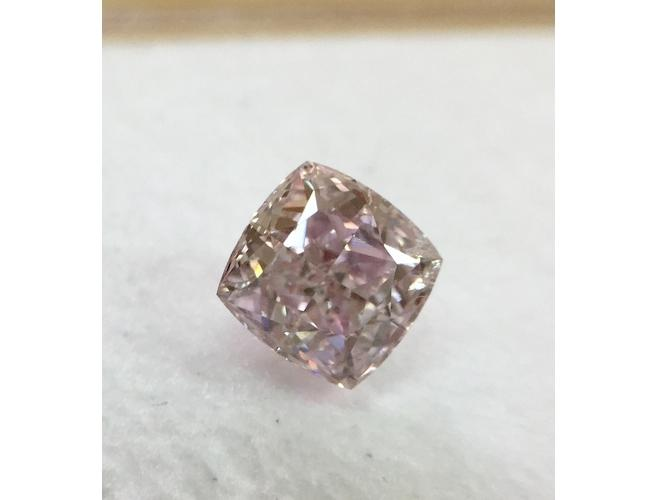 GIA Radiant 0.72ct. Fancy Purplish Pink I1 Natural Loose Color Diamond
