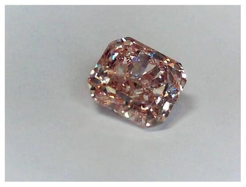 Radiant 4.39ct. Fancy Brown Pink-ColorDiamondsNet