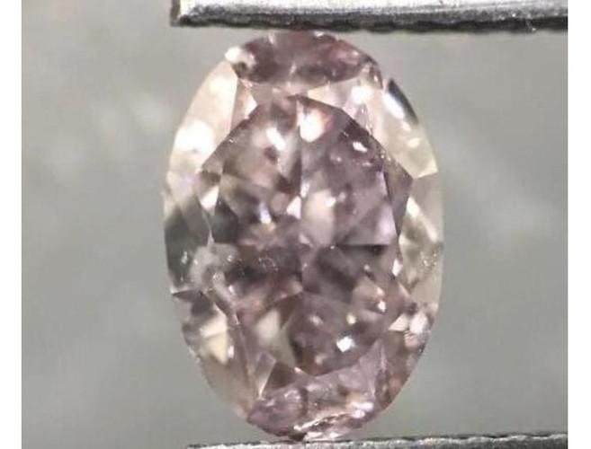 Oval 1.69 Carat Fancy Purplish Pink I1-ColorDiamondsNet