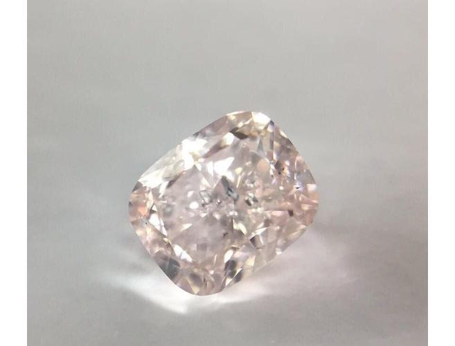 Cushion, 1.00 Carat, Fancy Brownish Pink, I2 Natural Loose Diamond-ColorDiamondsNet