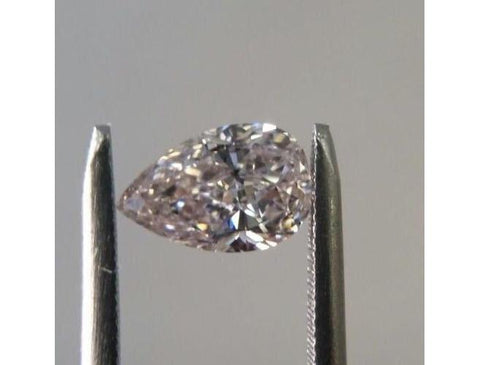 Pear, 1.13 Carat, Very Light Pink, Internally Flawless, Natural Loose Diamond-ColorDiamondsNet