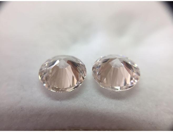 Round, 2.06 Total Carat Weight, Faint Pink, VS2. Natural Loose Diamonds - Color-Diamonds.Net