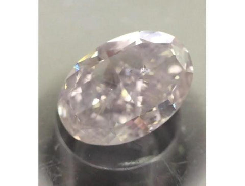 Oval, 1.80 Carat, Very Light Pink, I1. Natural Color Diamonds @ DahanCollection.Com