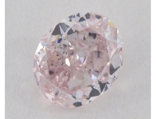 Oval 1.58 Carat Fancy Purple Pink SI2-ColorDiamondsNet
