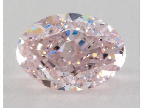 Oval 0.90 Carat Light Pink VS2-ColorDiamondsNet