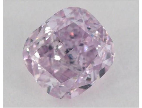 Cushion 0.71 Carat Fancy Pink Purple-ColorDiamondsNet