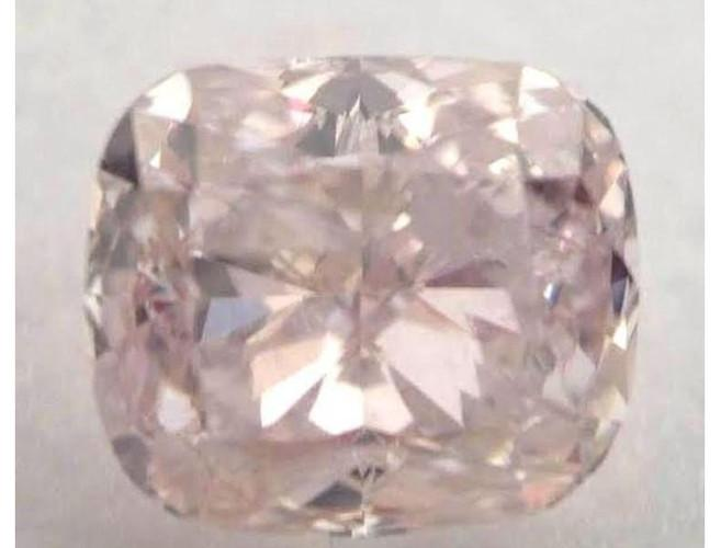 Cushion 1.13 Carat Fancy Light Brownish Pink-ColorDiamondsNet