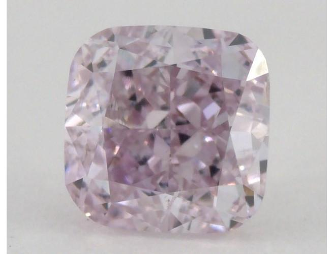 Cushion 0.51 Carat Fancy Pink Purple SI2-ColorDiamondsNet
