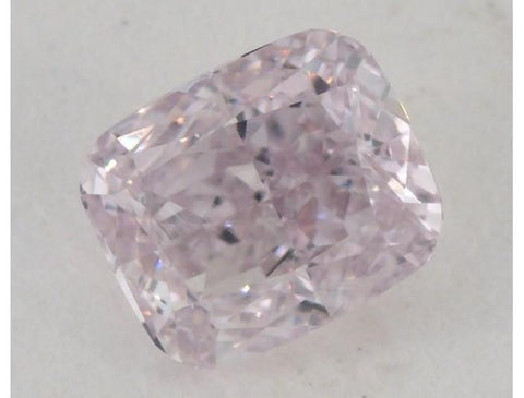 GIA Cushion 0.51 Carat Fancy Light Purplish Pink VS2-ColorDiamondsNet