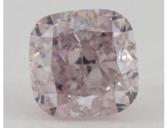 Cushion 0.59ct. Fancy Purplish Pink SI1-ColorDiamondsNet