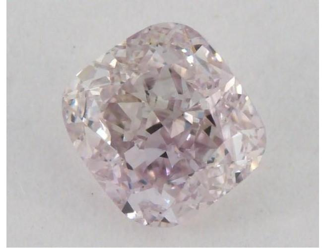 Cushion 0.53 Carat Fancy Light Pink VS1-ColorDiamondsNet