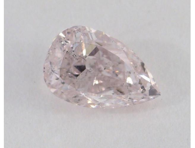 Pear 0.62 Carat Fancy Purple Pink I1-ColorDiamondsNet