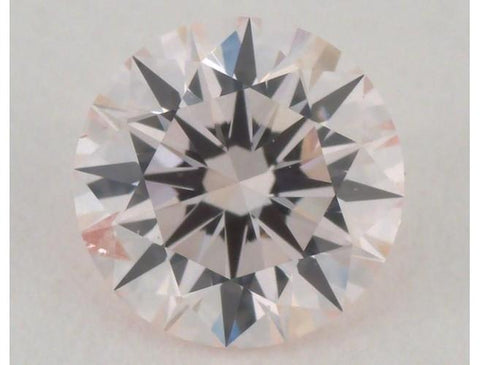 RBC 0.41 Carat Fancy Light Orangey Pink SI2 Diamond-ColorDiamondsNet