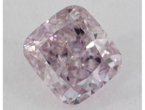 Cushion 0.40 Carat Fancy Purple Pink I1-ColorDiamondsNet