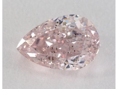 Pear 0.81ct. Fancy Pink SI2.-ColorDiamondsNet
