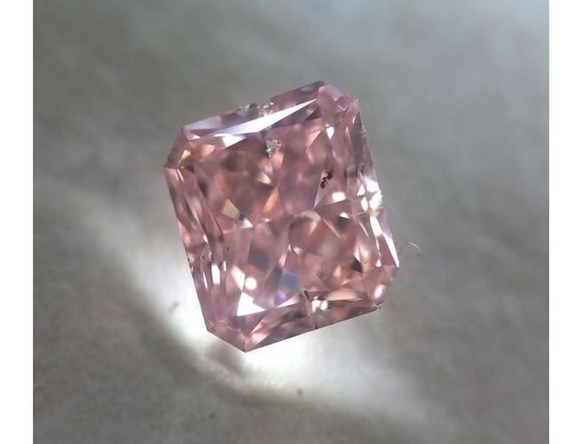 Cushion 0.62 Carat Fancy Intense Purplish Pink SI2-ColorDiamondsNet