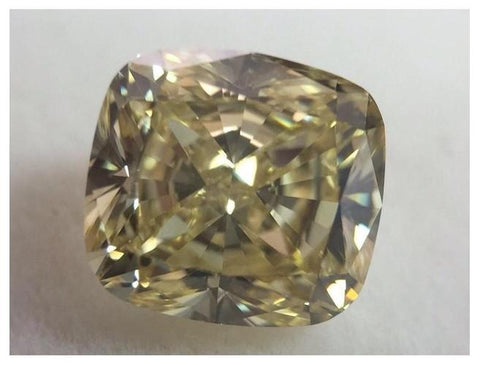 Cushion 1.75ct. Fancy Yellow VS1-ColorDiamondsNet
