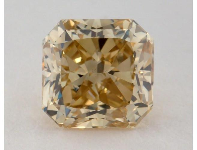 Radiant 2.50ct Fancy Deep Brownish Greenish Yellow VS2-ColorDiamondsNet
