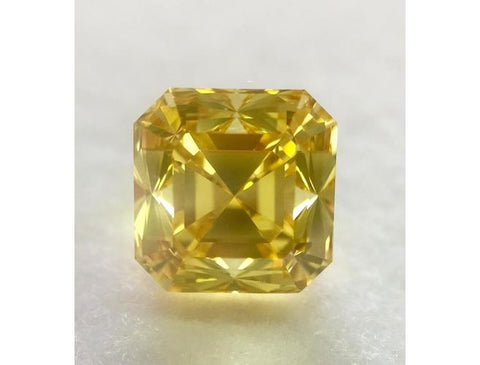 Emerald, 2.07 Carat, Fancy Vivid Yellow, Natural Loose Diamond-DahanCollection.com