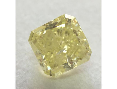 Radiant, 2.24 Carat, Fancy Yellow. Natural Yellow Diamonds Color-Diamonds.Net