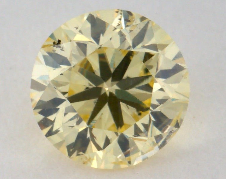 Round 1.00 Carat Fancy Yellow Diamond-ColorDiamondsNet