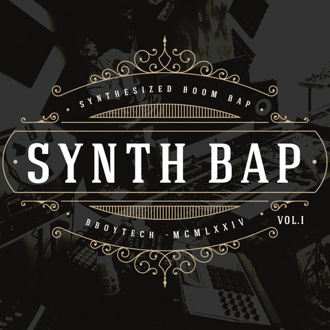 SynthBap Vol. 1  (Digital only)