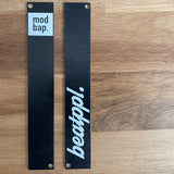 2 Pack of Branded Eurorack Panels - 4hp