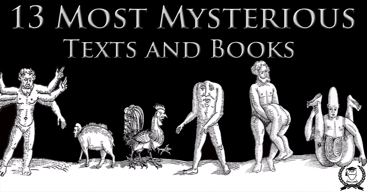 13 of The Most Mysterious Books Ever Discovered – The Occult