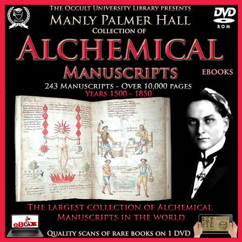 Alchemical Manuscripts Collection of Manly P. Hall on DVD