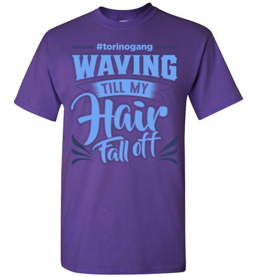 Waving till my hair t-shirt-Brush King