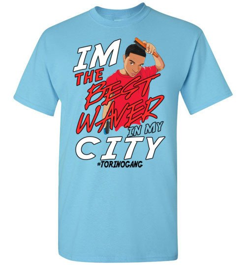 I'm the best waver in my city t-shirt-Brush King