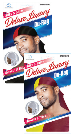5 Dream TWO-TONE Durag Deal for 360 Waves -- READ DESCRIPTION FOR COLORS