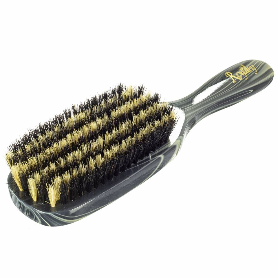 Royalty By Brush King Wave Brush #915-9 row Extra Soft- Great 360 waves brush