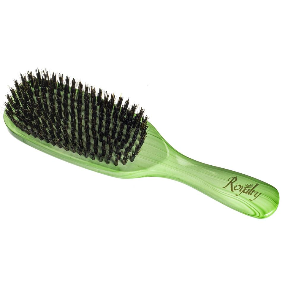 Royalty By Brush King Wave Brush #914-9 Row Hard brush - Great 360 waves brush for Wolfing