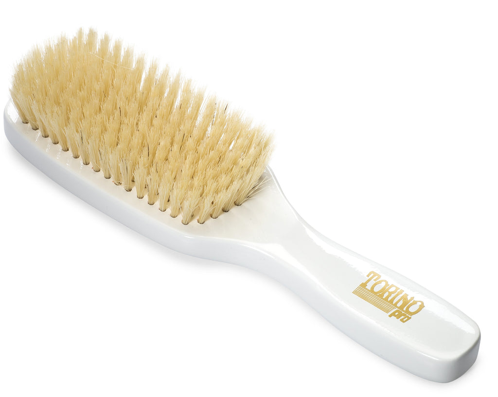 Torino Pro #500 - 9 Row Soft Wave Brush for 360 Waves