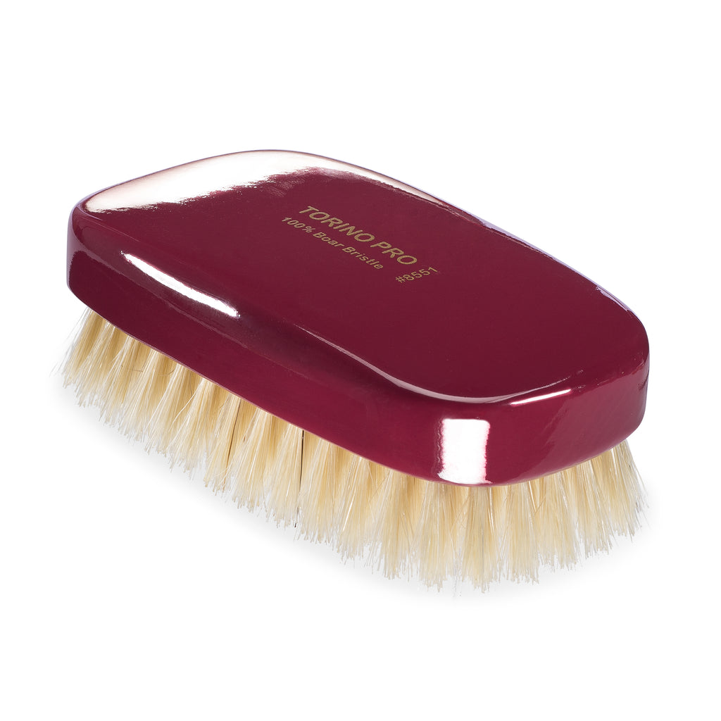 Torino Pro Wave Brush #8551- Soft Palm - Military Wave Brush for 360 Waves