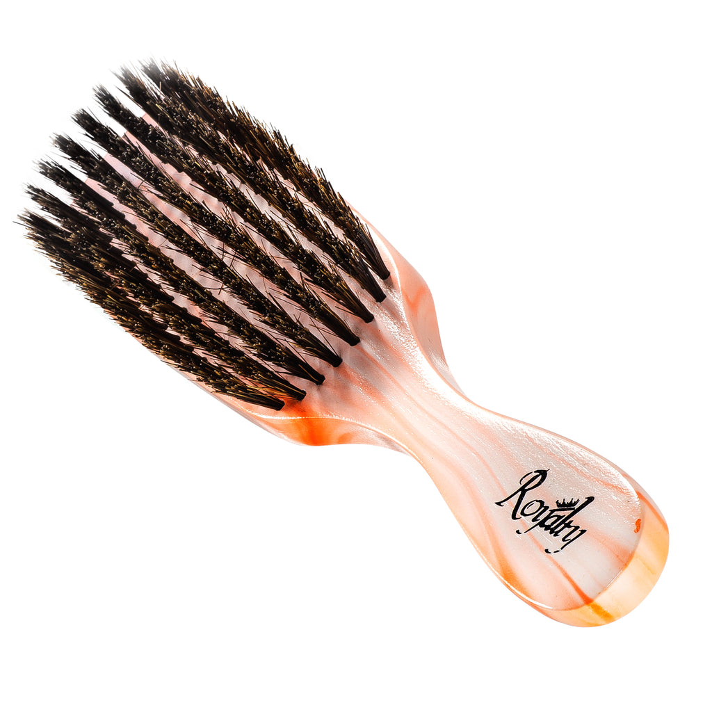 Royalty Medium Wave Brush - #804  8 row Wave Brush for 360 Waves
