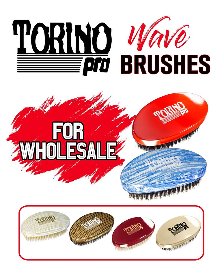 Torino Pro Wholesale 25 piece Palm Brushes Starter box plus Window Advertisement Poster