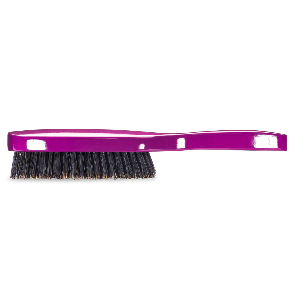 (NEW) Torino Pro Wave Brush #1320 Firm Medium 9 Row Long Handle Brush for 360 Waves