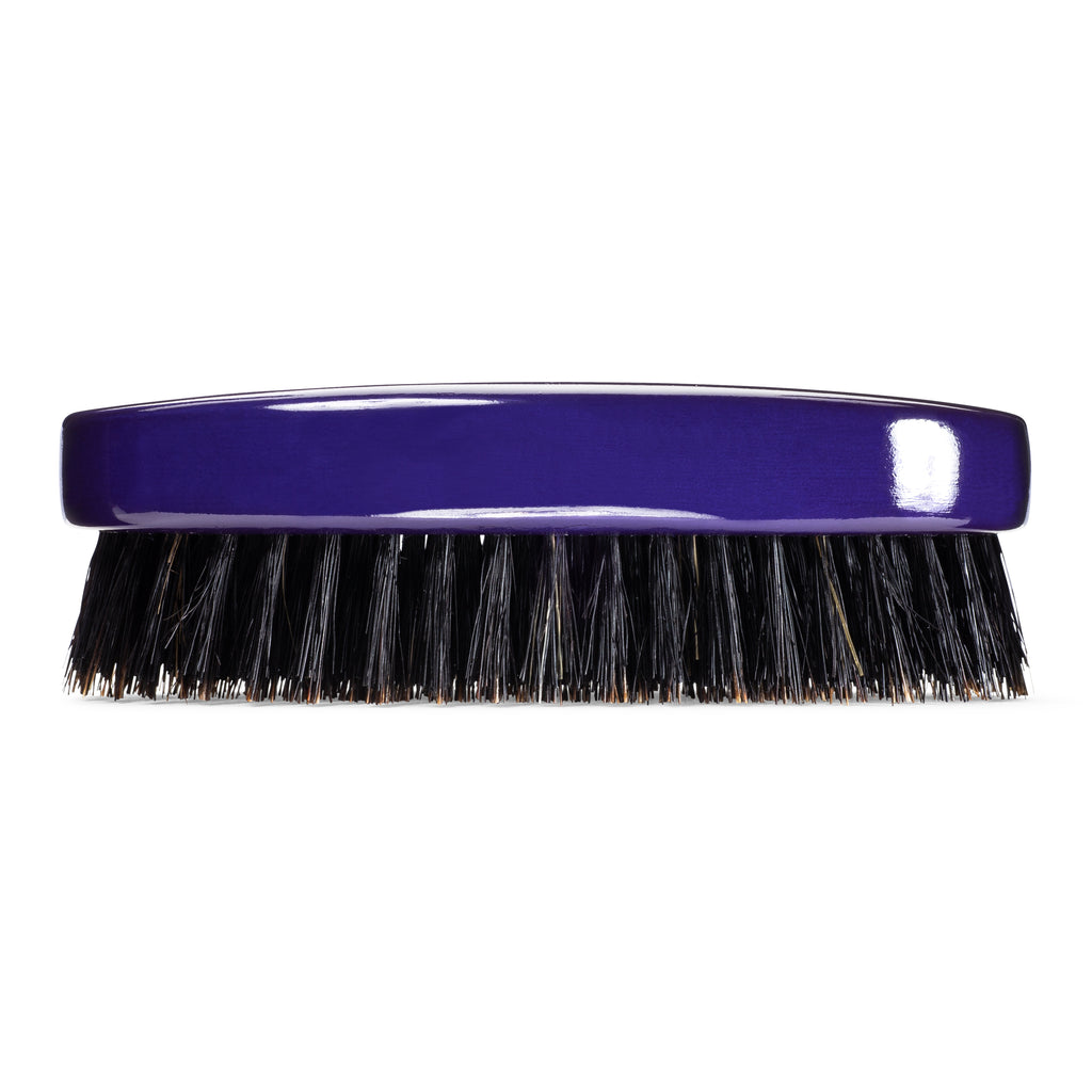 Torino Pro Wave Brush #420 - 9 Row, Medium Oval Military/Palm Brush