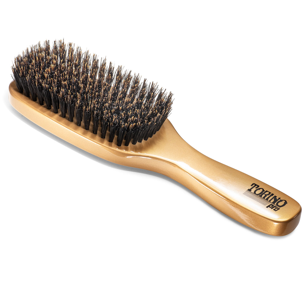 #1350 11 Row, Medium  (NEW) Torino Pro - Long Handle Wave Brush for 360 Waves
