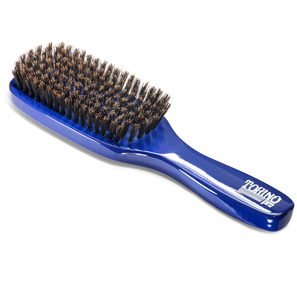 7 Row, Firm Soft #1260 (NEW) Torino Pro - Long Handle Wave Brush for 360 Waves