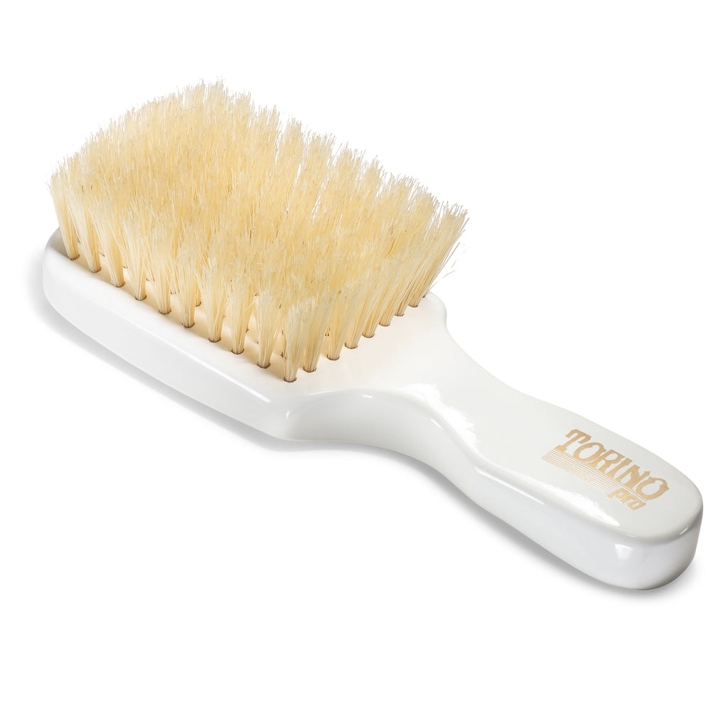 (NEW) Torino Pro Wave Brush #1430 - Soft Club Brush with Extra Long Bristles for 360 Waves