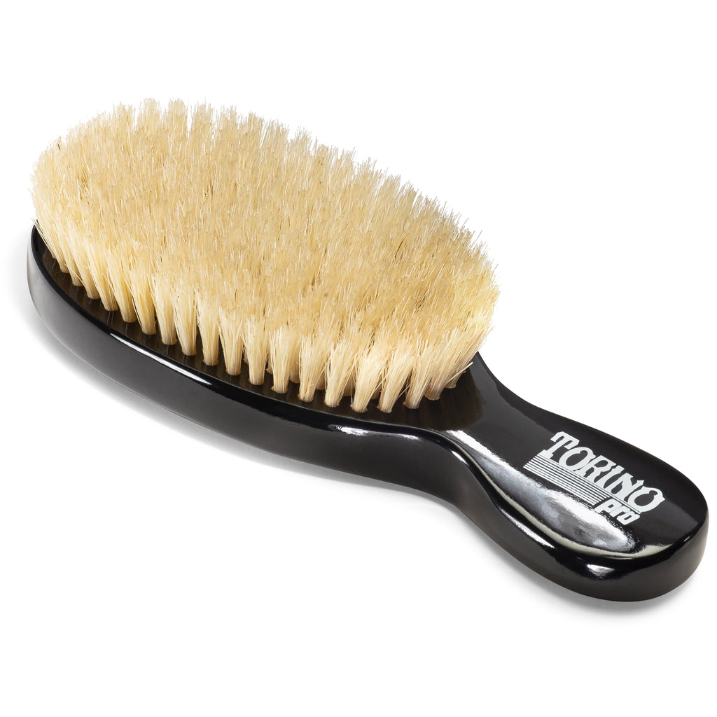 (NEW) Torino Pro Wave Brush #1080 Soft Oval Stub Brush for 360 Waves