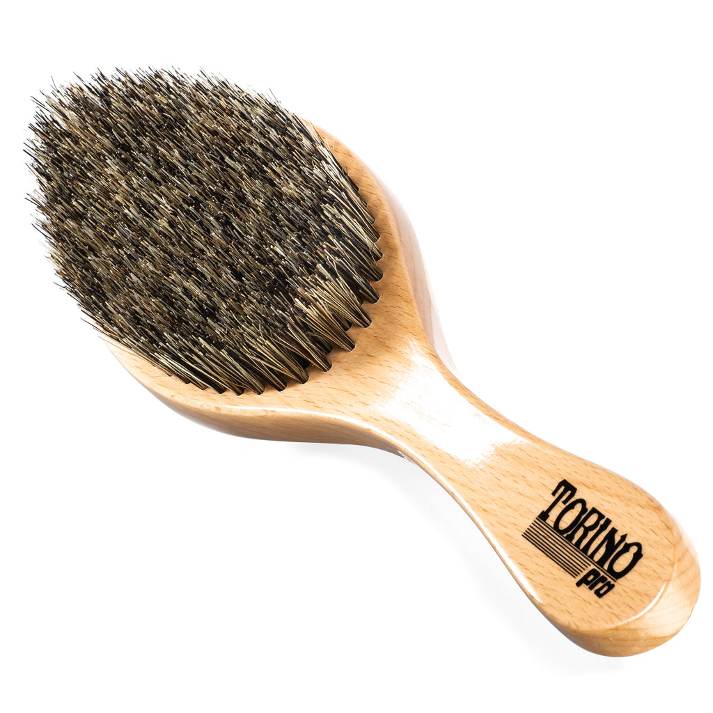 (NEW) Torino Pro Wave brush #1470 - Curved, Medium Wave Brush for 360 Waves (Curve)