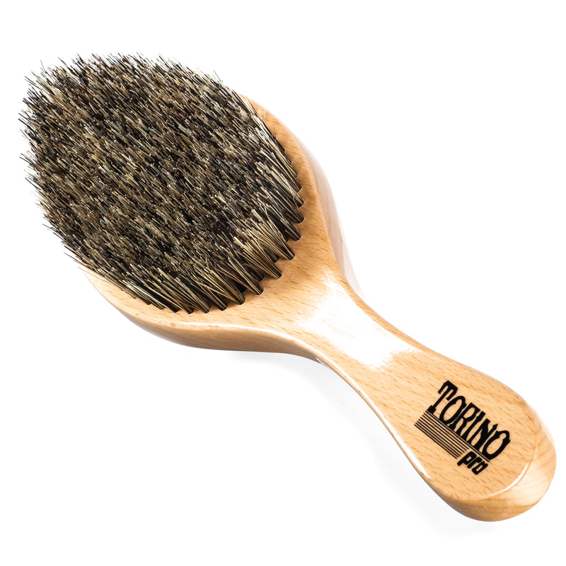 (NEW) Torino Pro #1470 - Curved, Medium Wave Brush for 360 Waves (Curve)