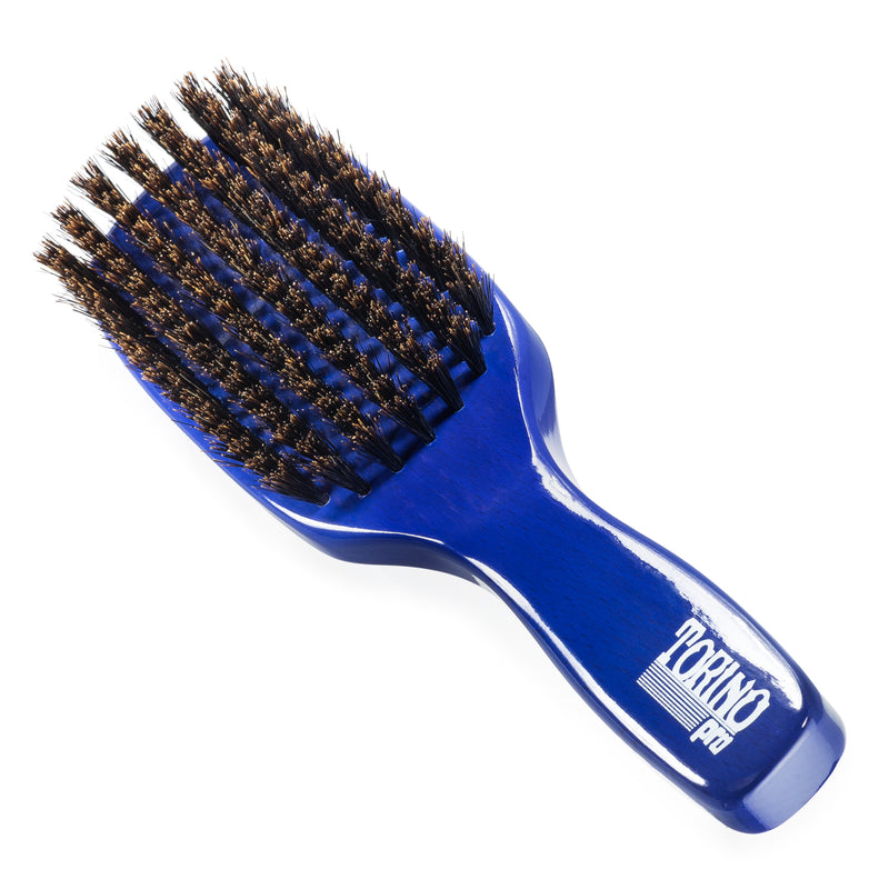 #1260 7 Row, Firm Soft (NEW) Torino Pro - Long Handle Wave Brush for 360 Waves